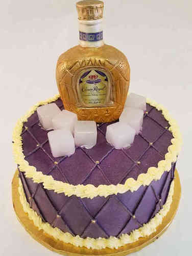 Food 40 Crown Royal Birthday Cake