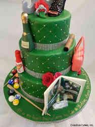 Hobbies 22 All My Hobbies Birthday Cake