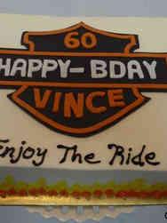 Hobbies 42 Harley Davidson Birthday Cake