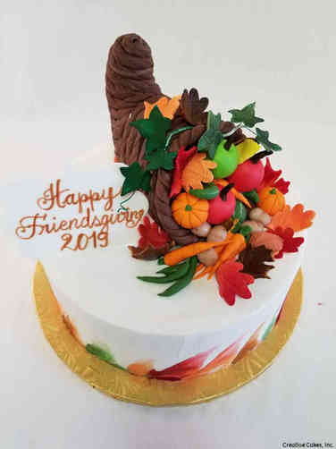 Autumn 20 Cournucopia Thanksgiving Cake