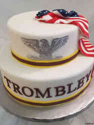 Military 09 Colonel Insignia Military Promotion Cake