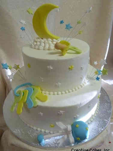 Neutral 34 Baby Toys Baby Shower Cake