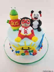 TV 42 Ryan's World Birthday Cake