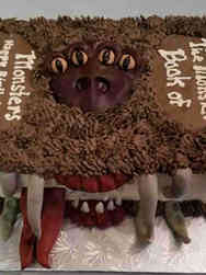 Movies 07 Monster Book of Monsters Harry Potter Birthday Cake