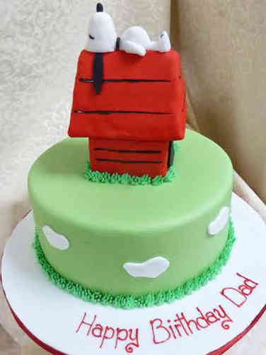 Pop 24 Snoopy's Doghouse Birthday Cake
