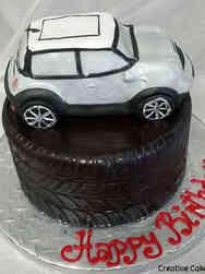 Hobbies 04 Mini Cooper Birthday Cake