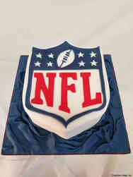 Sports 42 National Football League Birthday Cake