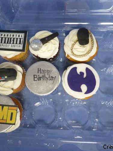 Adult 23 Wu Tang Clan Birthday Cupcakes
