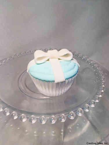 Adult 15 Tiffany's Box Birthday Cupcake
