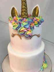 Animals 23 Peaches the Unicorn Birthday Cake