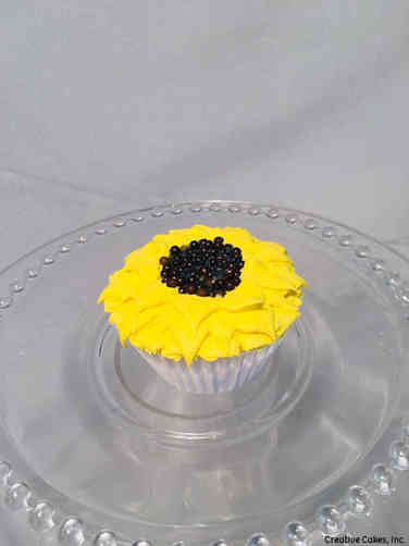 Other 27 Buttercream Sunflower Celebration Cupcake