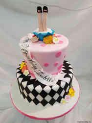 Movies 33 Alice in Wonderland Birthday Cake