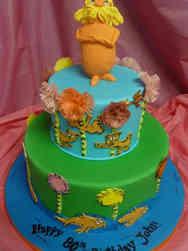 Pop 37 The Lorax Birthday Cake