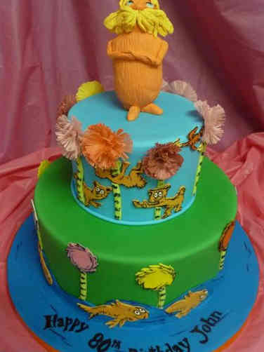 Pop 37 The Lorax Birthday Cake