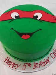 Superheroes 11 Teenage Mutant Ninja Turtles Raphael Birthday Cake