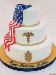 Hobbies 64 Military Birthday Cake