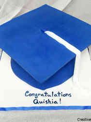 High School 13 Giant Graduation Hat High School Graduation Cake