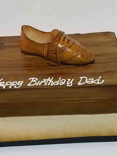 Fashion 85 Wingtip Birthday Cake