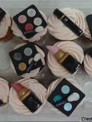 Adult 25 MAC Cosmetics Makeup Birthday Cupcakes
