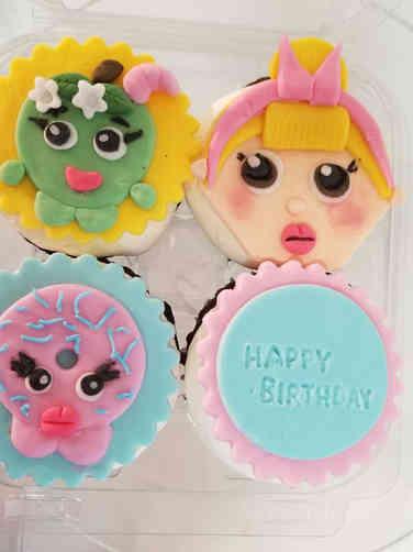 Kids 32 Shopkins Cupcakes