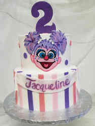 TV 33 Abby Kadabby Second Birthday Cake