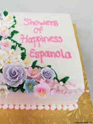 Floral 14 Spring Pastels Bridal Shower Cake