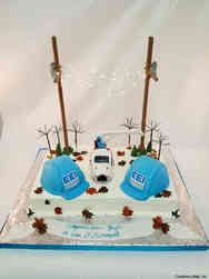 Professional 26 Power Company Retirement Cake