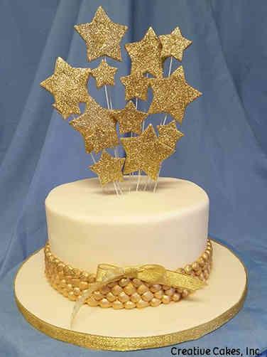 Other 01 Shooting Stars Celebration Cake
