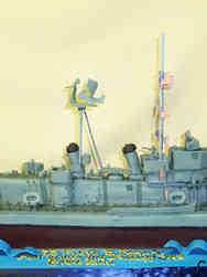 Military 23 Navy Ship Replica Military Celebration Cake
