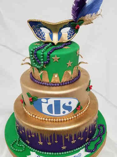 Corporate 05 Mardi Gras Corporate Celebration Cake