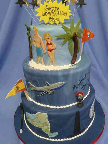 Hobbies 38 World Travler Birthday Cake