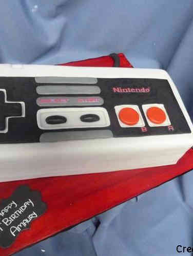 Sports 29 Nintendo Controller Birthday Cake