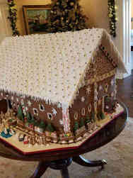 Winter 25 Giant Gingerbread House