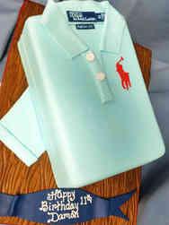 Unique 06 Ralph Lauren Polo Shirt Birthday Cake