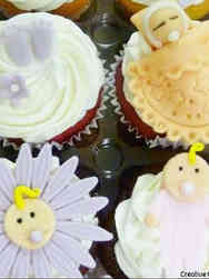 Other 01 Baby Faces Baby Shower Cupcakes