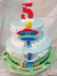 TV 37 Paw Patrol Tower Birthday Cake