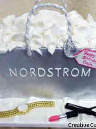Fashion 54 Nordstrom Shopping Bag Birthday Cake