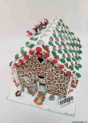 Custom Christmas Gingerbread House