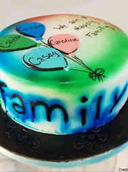 Other 21 Adoption Day Celebration Cake