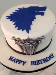 Pop 44 Game of Thrones House Stark Birthday Cake