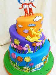 Movies 12 Dr. Seuss Birthday Cake