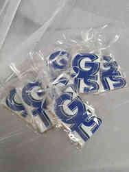 Cookies 14 School Logo Graduation Cookies