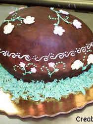 Spring 01 Chocolate Easter Egg Cake