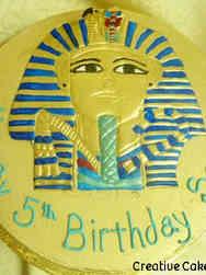 Unique 38 Egyptian Pharoh Birthday Cake