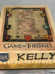 Pop 49 Game of Thrones Map Birthday Cake