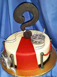 Reveal 01 Red Carpet Reveal Cake
