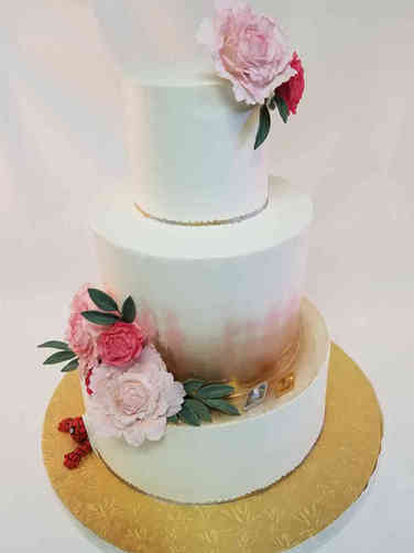 Trendy 32 Elegant Peonies and Spiderman Wedding Cake
