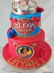 TV 34 Elena of Avalor Birthday Cake