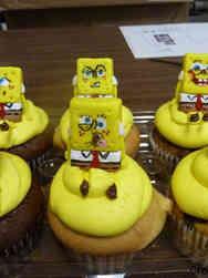 Kids 22 Spongebob Birthday Cupcakes