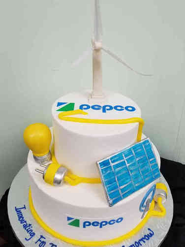 Corporate 25 Renewable Energy Corporate Celebration Cake